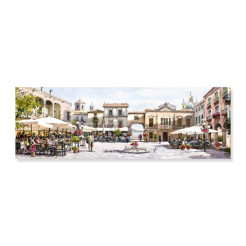 Picture of Alfresco Afternoon - Canvas