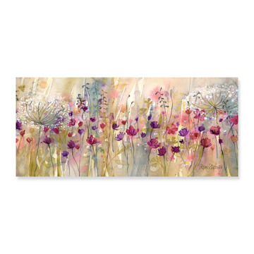 Picture of Spring Floral Pods Oversize - Canvas