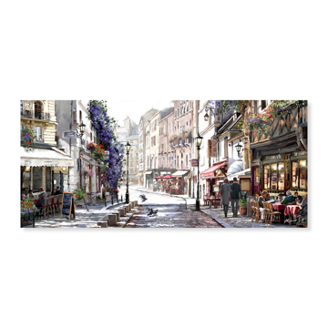Picture of Sunlit Cafes - Canvas