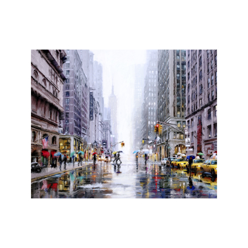 Picture of New York 5th Avenue - Canvas