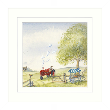 Picture of Red Tractor - W22