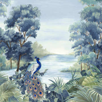 Picture of Peafowl - Canvas